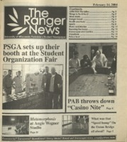 The Ranger News, Volume 34, issue 9, February 14, 2004