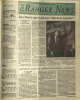 The Ranger News, Volume 20, issue 25, April 2, 1992