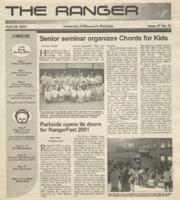 The Ranger , Volume 31, issue 27, April 26, 2001