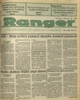 The Parkside Ranger, Volume 18, issue 20, February 22, 1990