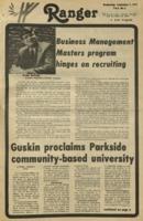 The Parkside Ranger, Volume 6, issue 2, September 7, 1977