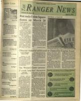 The Ranger News, Volume 20, issue 26, April 9, 1992