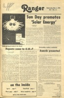 The Parkside Ranger, Volume 6, issue 31, May 3, 1978