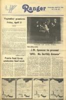 The Parkside Ranger, Volume 6, issue 28, April 12, 1978