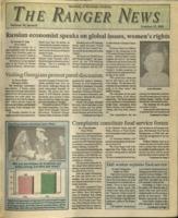 The Ranger News, Volume 20, issue 8, October 17, 1991