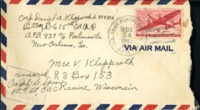 Letter from Daniel Klapproth to his mother while stationed in Canal Zone, August 21, 1942