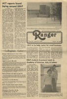 The Ranger, Volume 8, issue 28, April 17, 1980