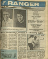 The Parkside Ranger, Volume 15, issue 22, March 12, 1987