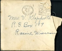 Letter from Daniel Klapproth to his mother while stationed in Fort Amador, Canal Zone, May 10, 1941
