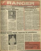 The Parkside Ranger, Volume 15, issue 25, April 2, 1987