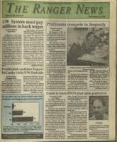 The Ranger News, Volume 20, issue 15, December 12, 1991