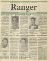 The Parkside Ranger, Volume 19, issue 21, March 7, 1991