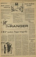 The Parkside DeRanger, Volume V, issue 10, November 17, 1977
