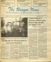 The Ranger News, Volume 25, issue 8, October 24, 1996