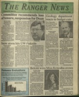 The Ranger News, Volume 20, issue 14, December 6, 1991