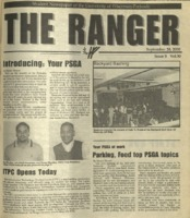 The Ranger , Volume 30, issue 3, September 28, 2000