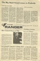 The Parkside Ranger, Volume 1, issue 25, April 11, 1973