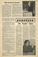Parkside's Newscope, Volume 6, issue 3, January 24, 1972