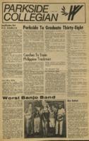 Parkside Collegian, Volume 1, issue 15, June 1, 1970