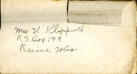 Letter from Daniel Klapproth to his mother while stationed in Canal Zone, March 23, 1940