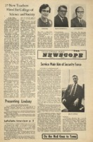 Parkside's Newscope, Volume 6, issue 6, February 14, 1972
