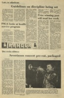 The Parkside Ranger, Volume 4, issue 4, September 24, 1975