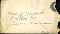 Letter from Daniel Klapproth to his mother while stationed in Fort Amador, Canal Zone, November 5, 1940