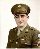 A colorized photograph of Daniel Klapproth in uniform