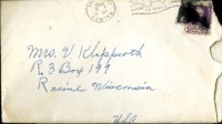 Letter from Daniel Klapproth to his mother while stationed in Fort Amador, Canal Zone, July 15, 1940