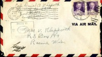 Letter from Daniel Klapproth to his mother while stationed in Fort Amador, Canal Zone, March 18, 1940