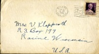 Letter from Daniel Klapproth to his mother while stationed in Canal Zone, April 12, 1940