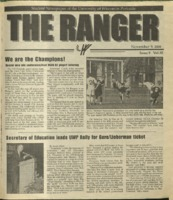 The Ranger , Volume 30, issue 9, November 9, 2000