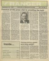 The Parkside Ranger, Volume 16, issue 4, September 24, 1987
