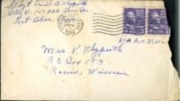 Letter from Daniel Klapproth to his mother while stationed in Fort Bliss, Texas, January 5, 1944
