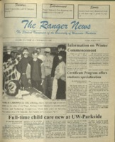 The Ranger News, Volume 25, issue 13, December 5, 1996