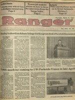 The Parkside Ranger, Volume 18, issue 22, March 8, 1990