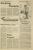 The Parkside Ranger, Volume 3, issue 25, February 19, 1975