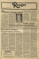 The Parkside Ranger, Volume 9, issue 24, April 2, 1981