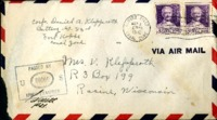 Letter from Daniel Klapproth to his mother while stationed in Fort Amador, Canal Zone, March 29, 1941