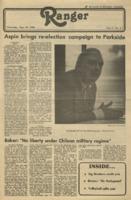 The Parkside Ranger, Volume 9, issue 3, September 18, 1980