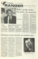 The Parkside Ranger, Volume 1, issue 8, November 15, 1972