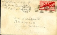 Letter from Daniel Klapproth to his mother while stationed in Fort Bliss, Texas, March 22, 1944
