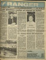 The Parkside Ranger, Volume 16, issue 10, November 5, 1987