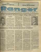 The Parkside Ranger, Volume 18, issue 15, January 18, 1990