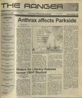 The Ranger , Volume 32, issue 10, November 8, 2001