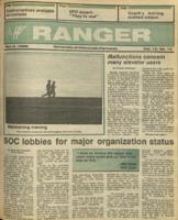 The Parkside Ranger, Volume 15, issue 10, November 6, 1986