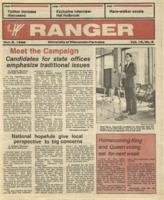 The Parkside Ranger, Volume 15, issue 5, October 2, 1986