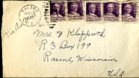 Letter from Daniel Klapproth to his mother while stationed in Fort Amador, Canal Zone, June 20, 1941