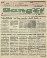 The Parkside Ranger, Volume 18, issue 14, December 14, 1989