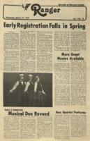 The Parkside Ranger, Volume 7, issue 18, January 31, 1979